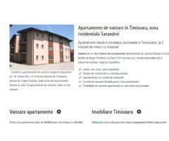 Imobiliare Timisoara, apartamente de vanzare Sanandrei