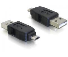 Adaptor USB micro-B tata la USB2.0 A-tata - 65036