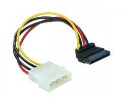 Cablu de alimentare SATA HDD 4pin tata in unghi - 60101