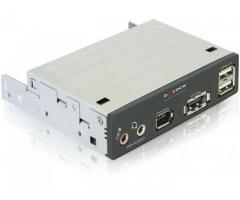 Unitate 3.5 inch cu porturi eSATAp, USB 2.0, FireWire si HD Audio - 91477