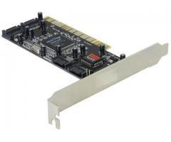 Placa PCI Controler SATA, 4 porturi cu Raid - 70154
