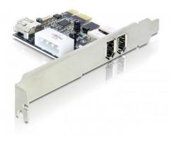 Placa PCI Express cu 2+1 porturi FireWire A Port - 89213