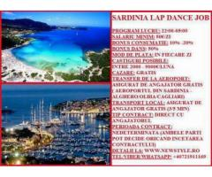 Lap Dance Job in Sardinia