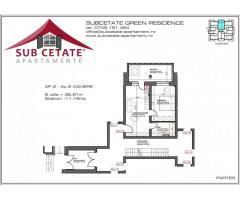 studio  modern in constructie noua rezidentiala la 3 minute  de CORESI