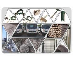 Reducere plasă de sârmă și stâlp de beton